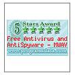 eScan  Free Antivirus and AntiSpyware - MWAV wins 5 stars Award from  ProgramsData.com